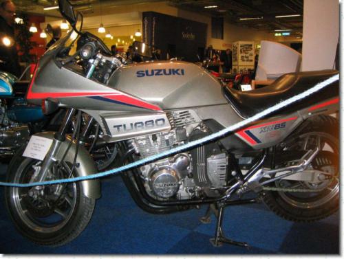 Göran Kölborns XN85 Turbo från 84