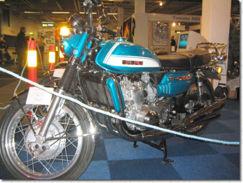 Gunnar Forsgrens omsorgsfullt renoverade GT750J -72