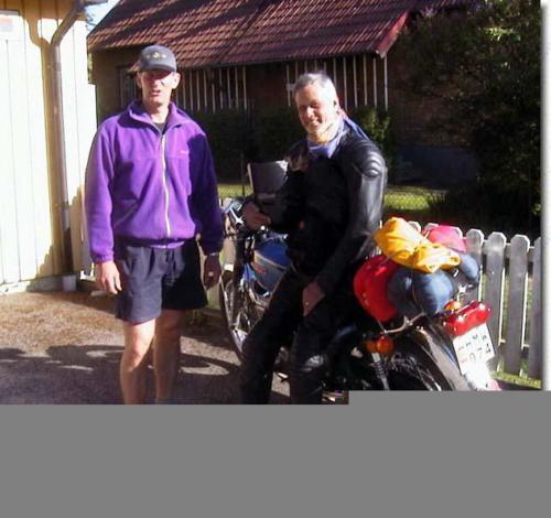 Paus på hemväg hos Mats Linderoth i Örebro