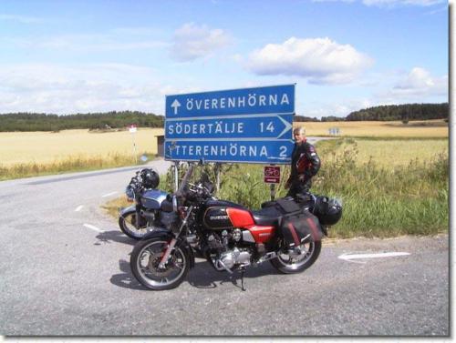 Leif och John på väg till Kristinehamn