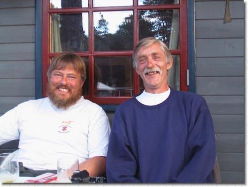 Palle och Leif i fin form